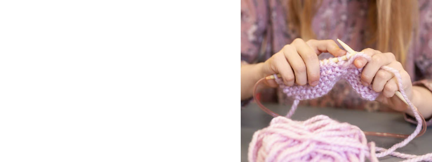 Sewing and knitting for children