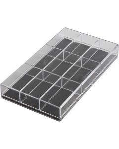 Acrylic Box, , H: 2.4 cm, L: 16.5 cm, W: 9,3 cm, 100 pc/ 1 pack