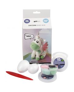 Funny Friends, Unicorn, green, 1 set