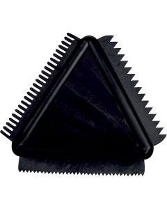 Rubber Texture Combs, size 9 cm, 1 pc