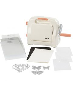 Starter kit - Die Cut and Embossing Machine, A5, 155x210 mm, 1 set