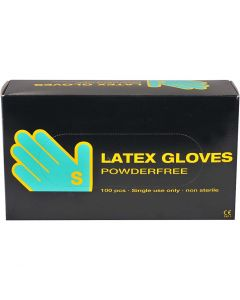 Latex Gloves, size small , 100 pc/ 1 pack