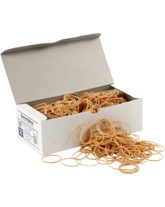 Rubber Bands, D: 5-8 cm, thickness 1 mm, 500 g/ 1 pack