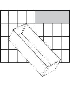 Insert Box, no. A8-2, H: 47 mm, size 157x55 mm, 1 pc