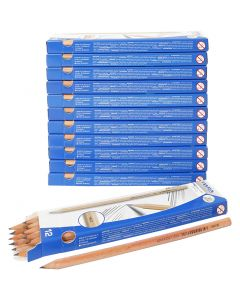 School Pencils, L: 18 cm, hardness HB, thickness 7 mm, 12x12 pc/ 1 pack