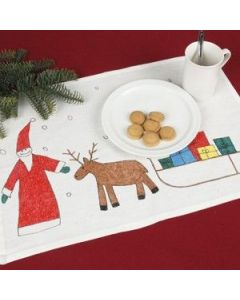 Table mat with childrens motive