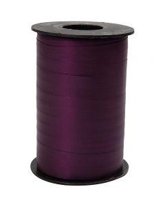 Curling Ribbon, W: 10 mm, matt, purple, 250 m/ 1 roll