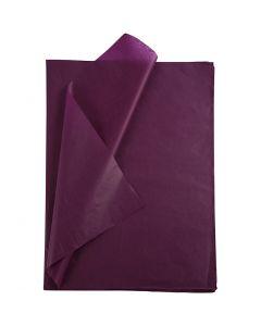 Tissue Paper, 50x70 cm, 14 g, burgundy, 10 sheet/ 1 pack
