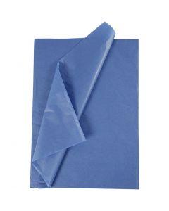 Tissue Paper, 50x70 cm, 14 g, blue, 10 sheet/ 1 pack