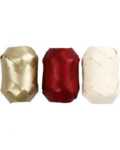 Curling Ribbon, W: 10 mm, 3x10 m/ 1 pack