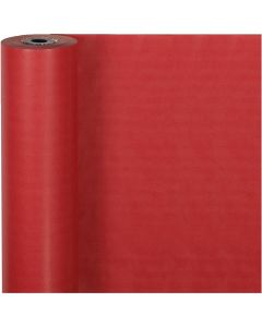 Wrapping Paper, W: 50 cm, 60 g, red, 100 m/ 1 roll