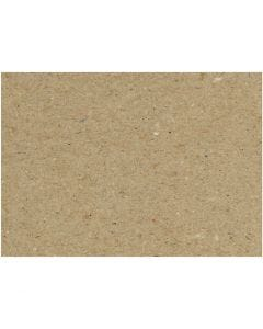 Recycled Card, A4, 210x297 mm, 225 g, 10 sheet/ 1 pack