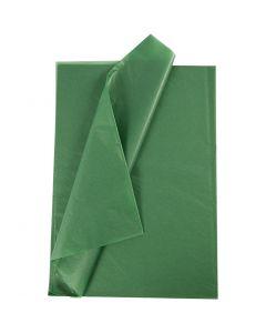 Tissue Paper, 50x70 cm, 14 g, green, 25 sheet/ 1 pack