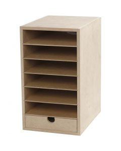 Paper Storage Unit, H: 31,5 cm, W: 18 cm, A5, 1 pc