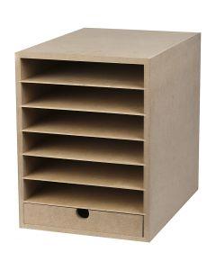 Paper Storage Unit, H: 31,5 cm, W: 24,3 cm, A4, 1 pc