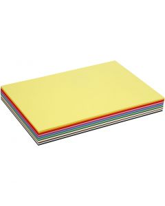 Creative Card, A3, 297x420 mm, 180 g, assorted colours, 300 ass sheets/ 1 pack