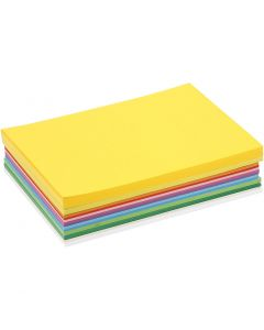 Happy Card, A5, 148x210 mm, 180 g, assorted colours, 300 ass sheets/ 1 pack