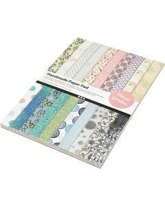Handmade Paper Pad, A4, 210x297 mm, 110 g, 20 sheet/ 1 pack