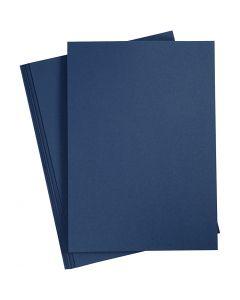 Paper, A4, 210x297 mm, 110 g, blue, 20 pc/ 1 pack