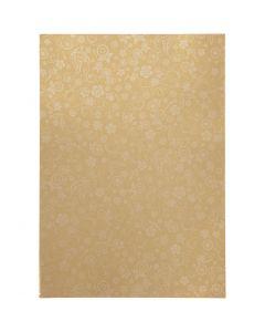 Paper, A4, 210x297 mm, 80 g, gold, 20 sheet/ 1 pack