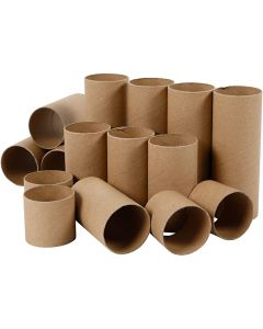 Cardboard tube, L: 4,7+9,3+14 cm, 60 pc/ 1 pack
