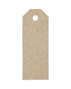 Manila Tags, size 3x8 cm, 220 g, 20 pc/ 1 pack