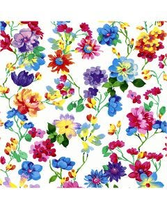Table Napkins, Flower meadow, size 33x33 cm, 20 pc/ 1 pack