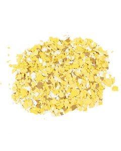 Terrazzo flakes, yellow, 90 g/ 1 tub