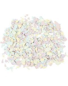 Terrazzo flakes, pastel colours, 90 g/ 1 tub