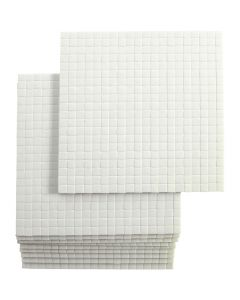 3D Foam Pads, size 5x5 mm, thickness 3 mm, 10x400 pc/ 1 pack