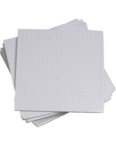 3D Foam Pads, size 5x5 mm, thickness 1 mm, 10x400 pc/ 1 pack