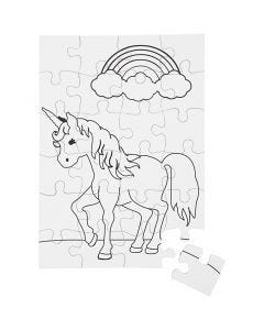 Jigsaw Puzzle, white, 2 pc/ 1 pack