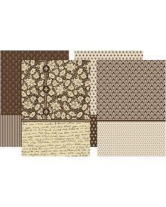 Decoupage Paper, 25x35 cm, 17 g, 4x20 sheet/ 1 pack
