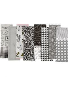 Decoupage Paper, 25x35 cm, 17 g, 80 ass sheets/ 1 pack