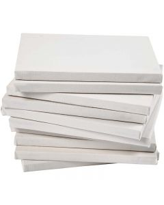 Stretched Canvas, size 18x24 cm, 280 g, white, 40 pc/ 1 pack