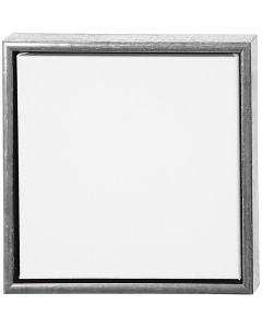 ArtistLine Canvas with frame, size 34x34 cm, 360 g, antique silver, white, 1 pc