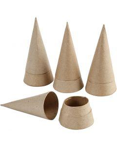 Cone Box, H: 13 cm, D: 6,5 cm, 4 pc/ 1 pack