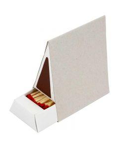 Matchbox, size 8,5x5x9,5 cm, 10 pc/ 1 box