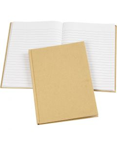 Notebook, A5, 60 g, brown, 1 pc