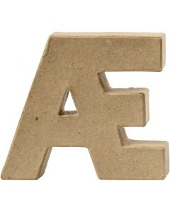 Letter, Æ, H: 10 cm, thickness 2 cm, 1 pc