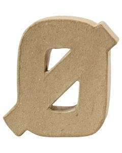 Letter, Ø, H: 10 cm, thickness 2 cm, 1 pc