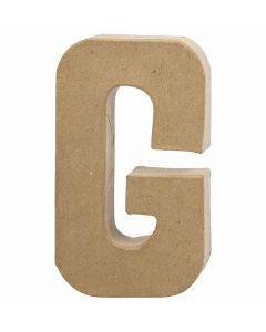 Letter, G, H: 20,5 cm, W: 11,5 cm, thickness 2,5 cm, 1 pc