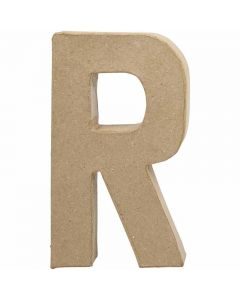 Letter, R, H: 20,5 cm, W: 11,7 cm, thickness 2,5 cm, 1 pc