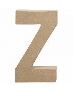 Letter, Z, H: 20,2 cm, W: 11,2 cm, thickness 2,5 cm, 1 pc