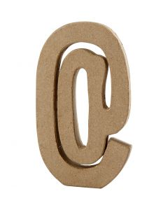 Symbol, @, H: 19,9 cm, W: 11,5 cm, thickness 2,6 cm, 1 pc