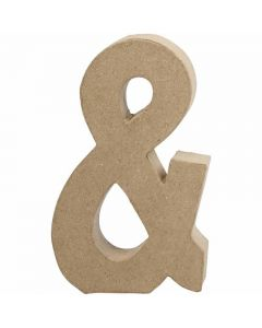 Symbol, &, H: 19,9 cm, W: 11,5 cm, thickness 2,5 cm, 1 pc