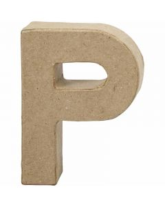 Letter, P, H: 10 cm, W: 7,7 cm, thickness 1,7 cm, 1 pc
