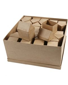 Houses, H: 10,5 cm, size 6x8,5 cm, 40 pc/ 1 pack