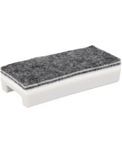 Whiteboard Eraser, L: 14 cm, W: 6 cm, 1 pc