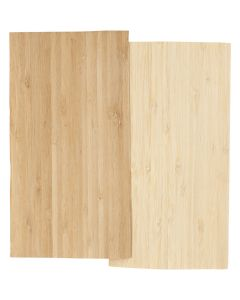 Bamboo Veneer, 12x22 cm, thickness 0,75 mm, 2 sheet/ 1 pack